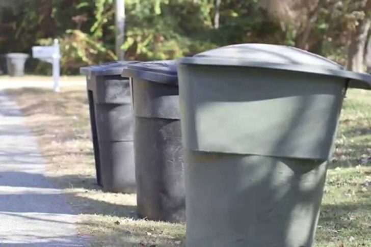 Revised trash collection schedule for week of April 6-10