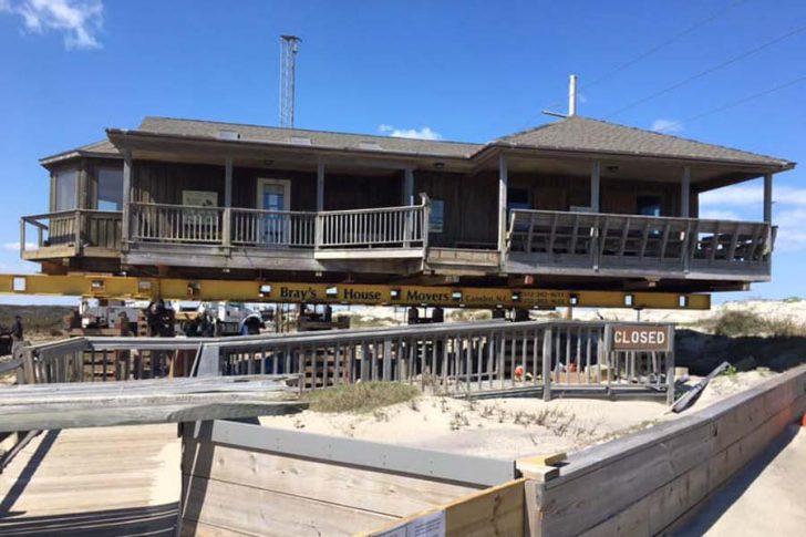 Pea Island RefugeVisitor Center gets a lift