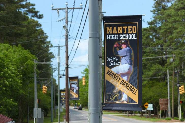 Banners honor MHS' 2020 graduating athletes