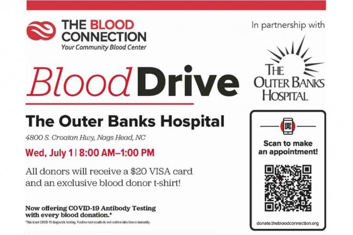 July 1: Blood Connection Blood Drive