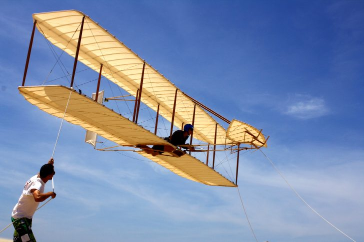 Kitty Hawk Kites 1902 Wright Glider experience