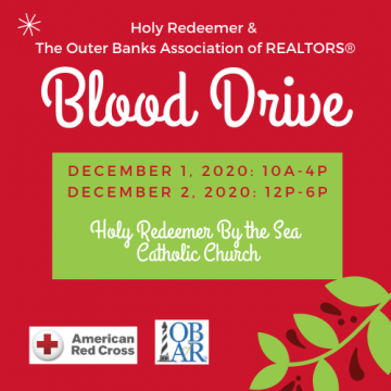 OBX Community Blood Drive Sponsored by OBAR