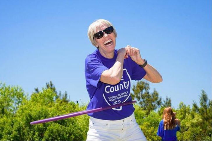 The Dare Special Olympics' own gold medalist