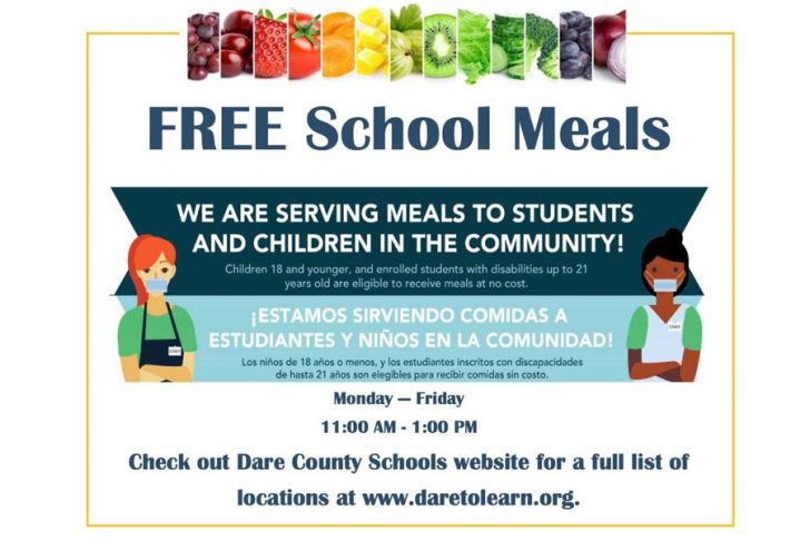 Free meals from Dare schools