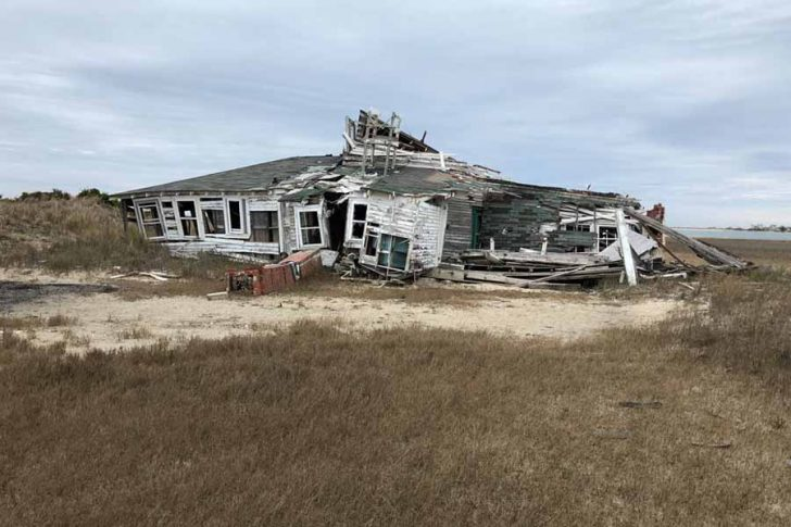 Demolition of Several Structures at Cape Lookout National Seashore