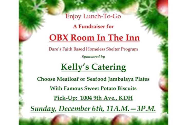 Kelly's Catering Lunch-To-Go Fundraiser for OBX Room In The Inn