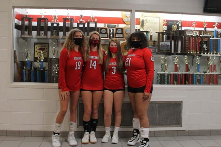 CHSS Varsity Volleyball Heading to the First Round of Playoffs on Tuesday, Jan 12