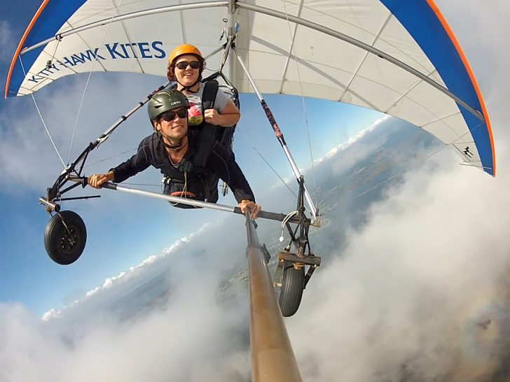 Kitty Hawk Kites tandem hang gliding lesson