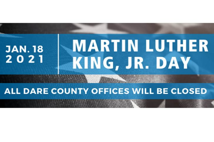 Dare County Public Works Announces 2021 Martin Luther King Jr. Holiday Trash Collection Schedule
