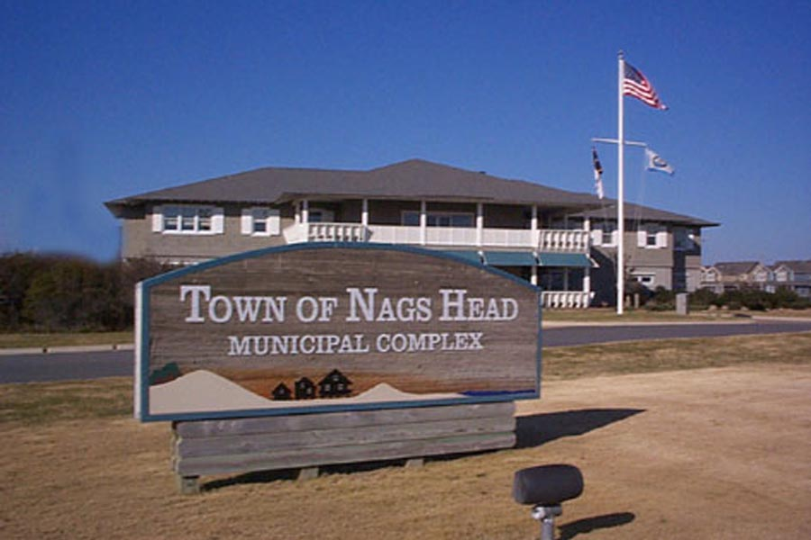 COVID case partially closes Nags Head Town Hall