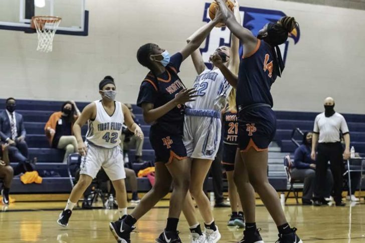 Lady Nighthawks basketball seasons ends with playoff loss to North Pitt Panthers