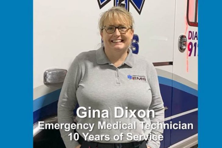 Dare County Employee Receives 10-Year Service Pin
