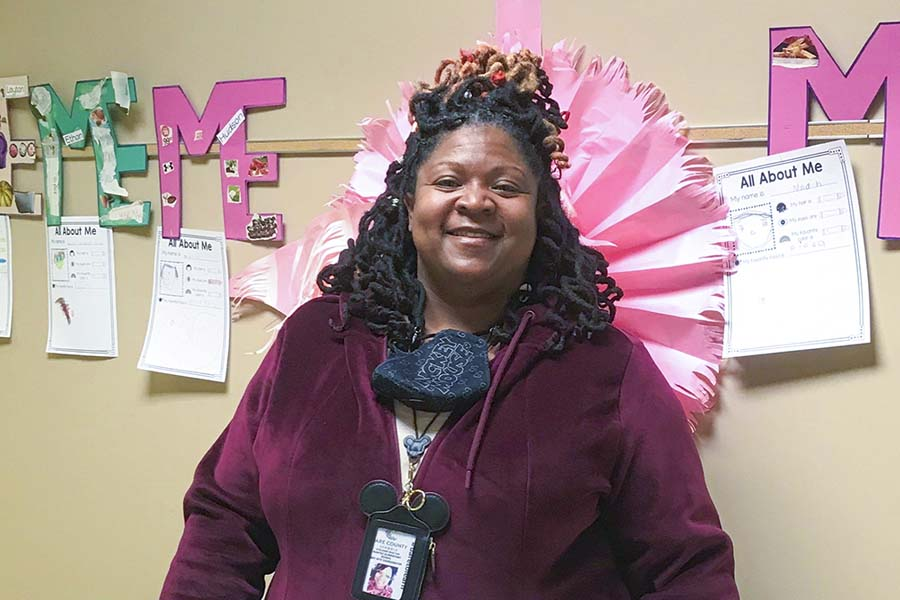 MES educator Shelawn Burton named 'School Hero'
