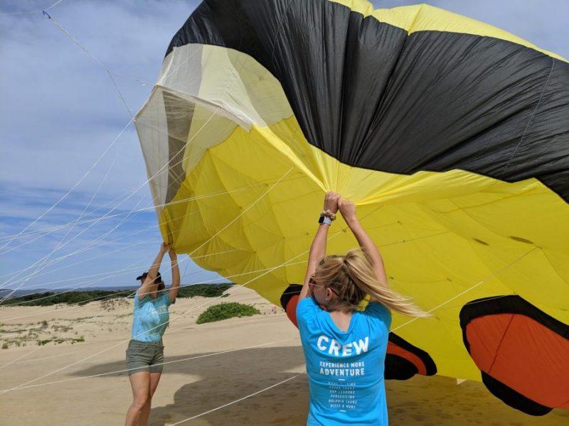 Kitty Hawk Kites kite festival crew