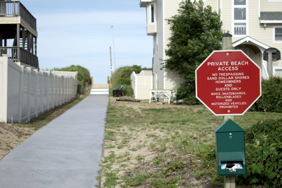 Hovey plans to appeal ruling on Duck beach access