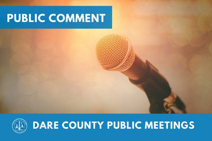 Beginning April 19, Dare Board of Commissioners meetings to allow in-person public comments