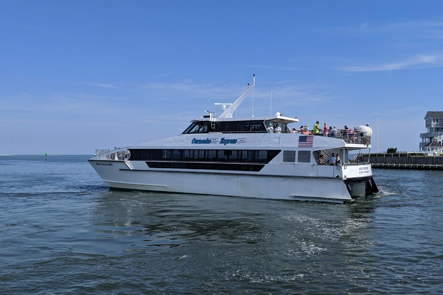 Ocracoke Express Passenger Ferry begins May 25