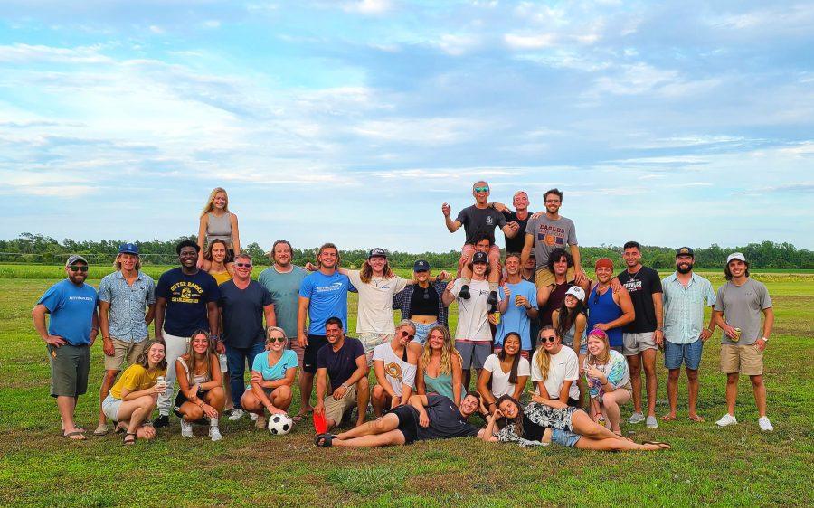Kitty Hawk Kites crew picnic
