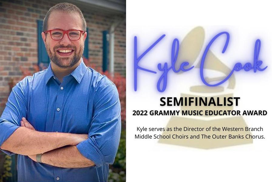 Director of OBX Chorus is semifinalist in GRAMMY Music Educator competition